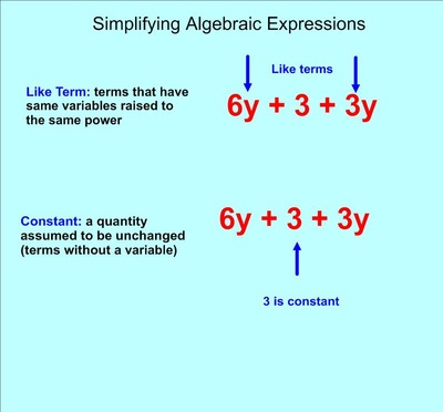 Expressions and Equations - Mrs. Thomas\' classes
